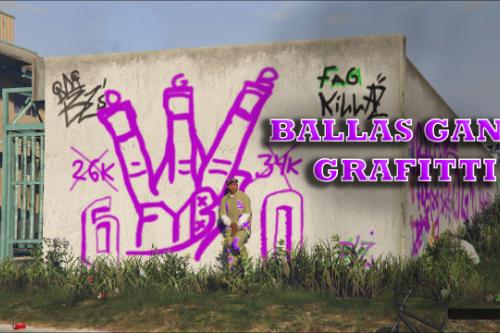 Ballas Gang Graffiti