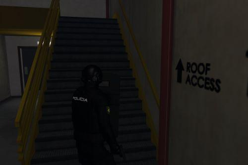 Ballistic Shield for LSPDFR 0.4.2 [CNP/Spanish Police]
