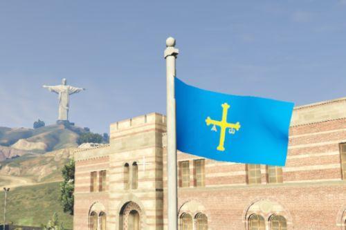 Bandera de Asturias | Asturias flag (Spain)