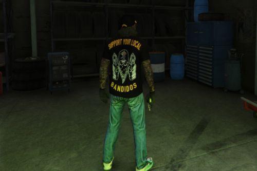 Bandidos Shirt + Cap for Trevor [+F]