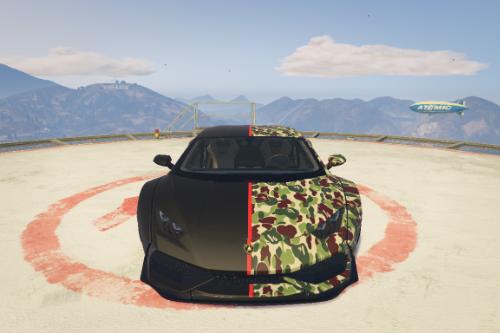 BAPE Paint Job for Lamborghini Huracan LP-610
