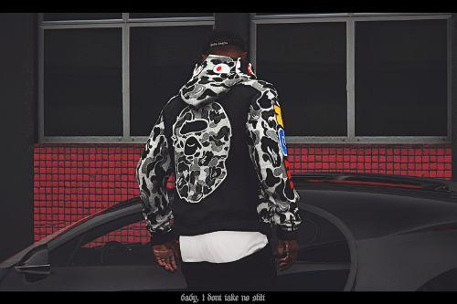 Bape, Vlone Hoodie for MP