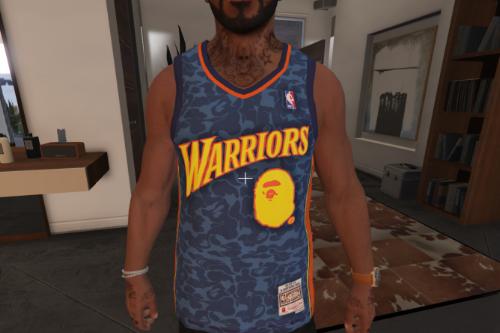 Bape Warriors Jersey