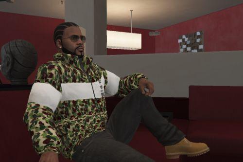 Bape X Adidas Original Camo Jacket for Franklin