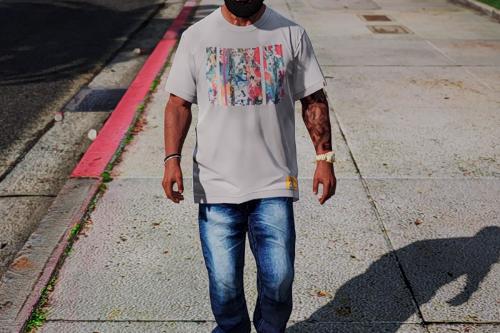 Bape x Futura - T-Shirt Pack