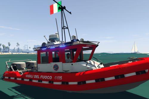 Barca Vigili Del Fuoco - Soccorso Portuale [ELS]