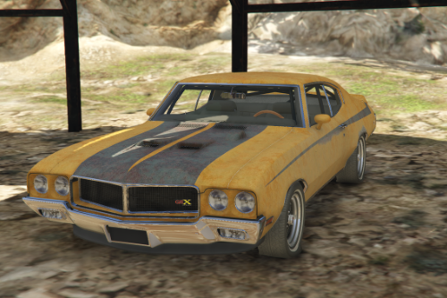Barn Find Livery for Sam Mods 70 GSX Stage 1