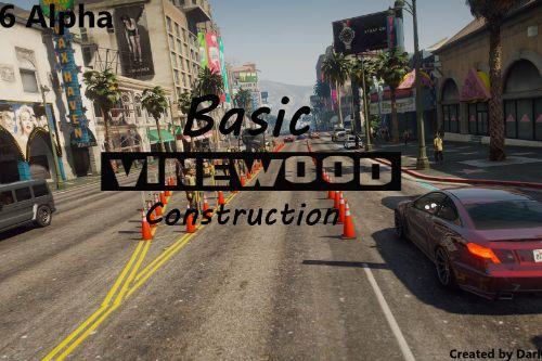 Basic Vinewood Construction [Menyoo]