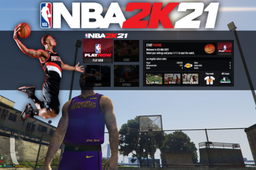 Basketball Mod [NBA 2K21]