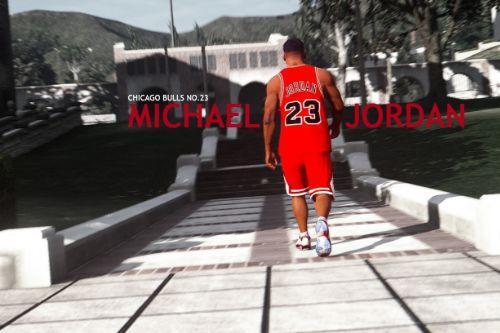 Michael Jordan basketball uniform for Franklin