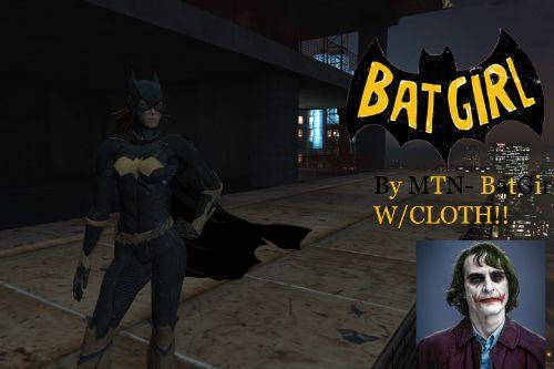 Batgirl Batman Arkham Knight w/ cloth [Add-On Ped]
