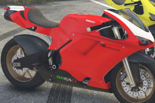 Fictional Ducati Texture for Bati