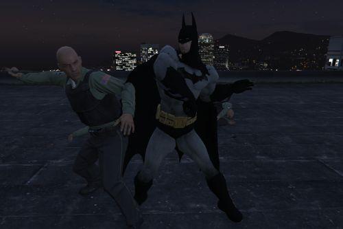 Batman Arkham City Classic Arkham City Black Suit