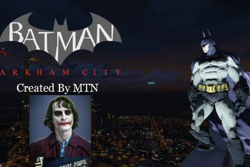Batman: Arkham City W/Cloth [Add-On Ped]