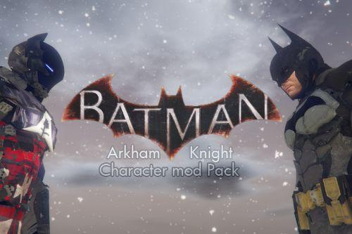 Batman Arkham Knight Character Mod Pack