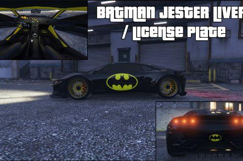 Batman Jester Livery / License Plate