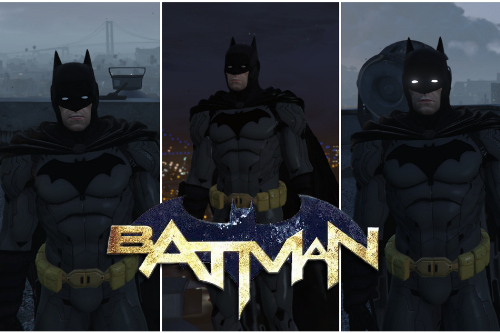 Batman New 52 + Gadgets Pack W/Cloth Physics