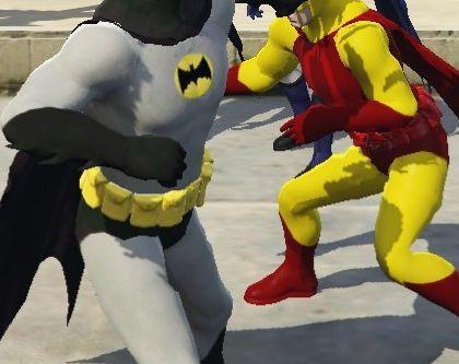 Batman Reskins [Add-on peds]