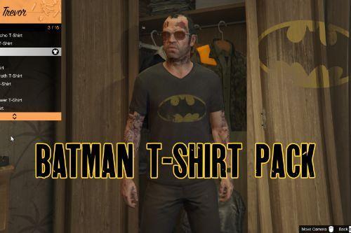 Batman T-Shirt pack for Trevor