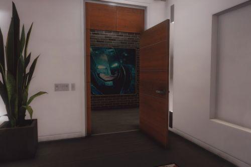 Batman v Superman Interior Paintings for Franklin's House