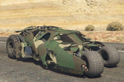 Batmobile Military Skin [Replace | Extras]