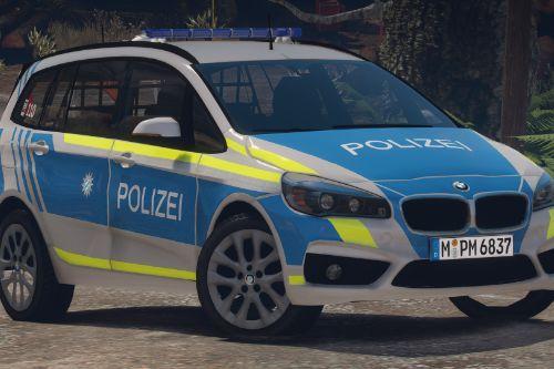 Bayrische Polizei - BMW 2er Gran Tourer FuStW | Deutsch