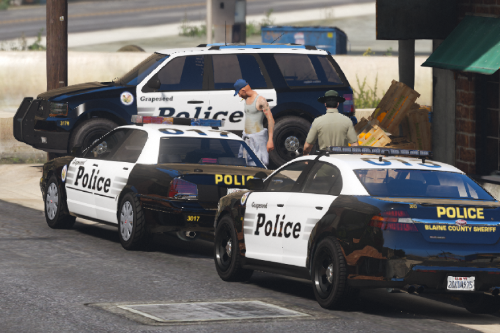 BCSO Grapeseed and Paleto Bay Contracts Livery Pack