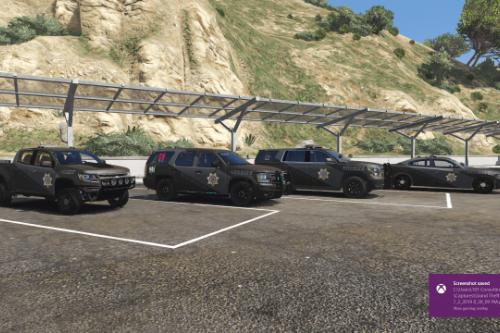 BCSO Grey over Black New Patrol Vehicle Livery