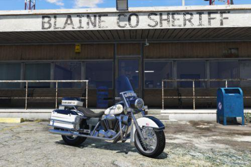 BCSO Police Motorcycle