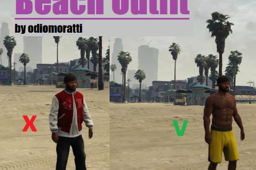 Beach Outfit Mod