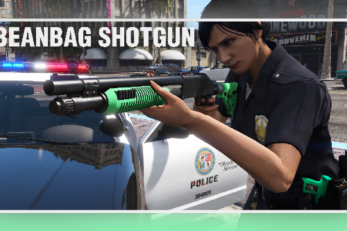 Bean Bag Shotgun [Replace | Tints]