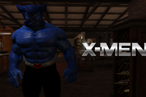 Beast X-MEN [Add-On Ped]