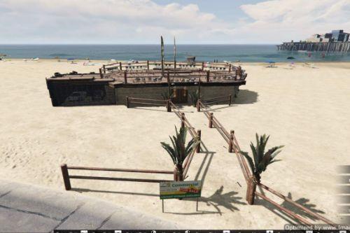 Beach House in Vespucci Beach [Map Editor]