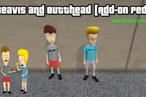 Beavis and Butthead [Add-On Ped]