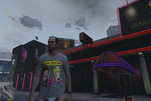 Beavis And Butthead Shirt For Trevor