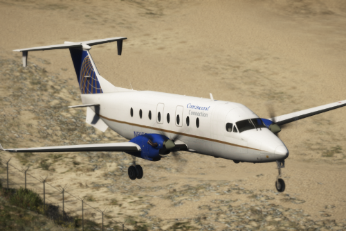 Beechcraft 1900D [Add-On | Tuning I Liveries]