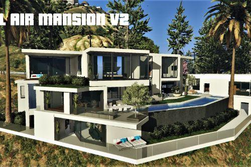 Bel Air Mansion V2 [MapEditor]