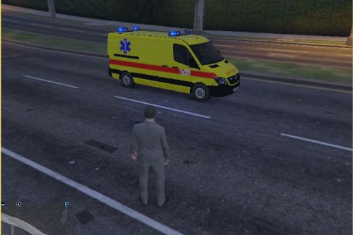 Belgian Ambulance / Ambulance Belge - Mercedes Sprinter