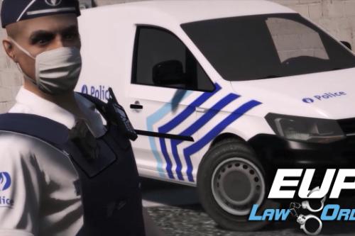 Belgian / Belge / België EUP Police Uniform