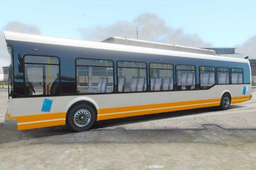 Belgian Bus - STIB Bus