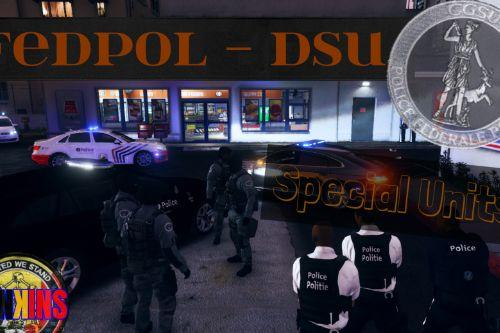 Belgian Fed Police - Special Units skin pack (SWAT)