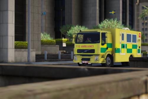 Belgium MICU Ambulance Paintjob
