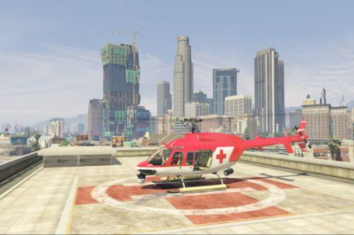 Bell 407 Air Ambulance (Template/Paintjob)