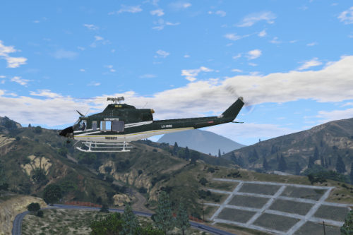 Bell 412 Los Santos Sheriff Texture