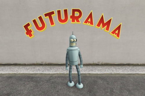 Bender (Futurama) [Add-on Ped]