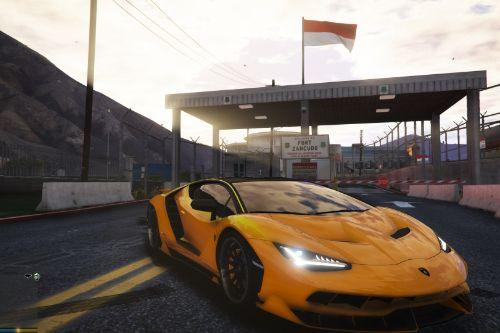 GTA V: Mod Bendera Indonesia (Indonesian Flag) [ADDON]
