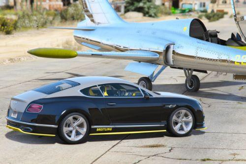 Bentley Continental GT Breitling Jet Team [Add-On / Replace]