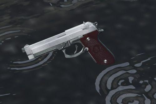 Beretta M9 Custom (Animated, Deluxe replacer)