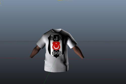 Beşiktaş Football T-Shirt For Franklin