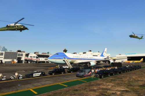 ✪REALISTIC✪ President Arrival at LSIA